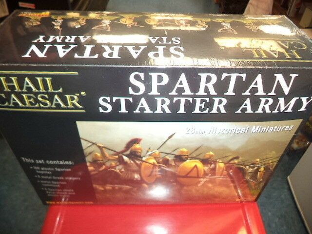 Spartan Starter Army Set Hail Caesar Warlord Games Models New