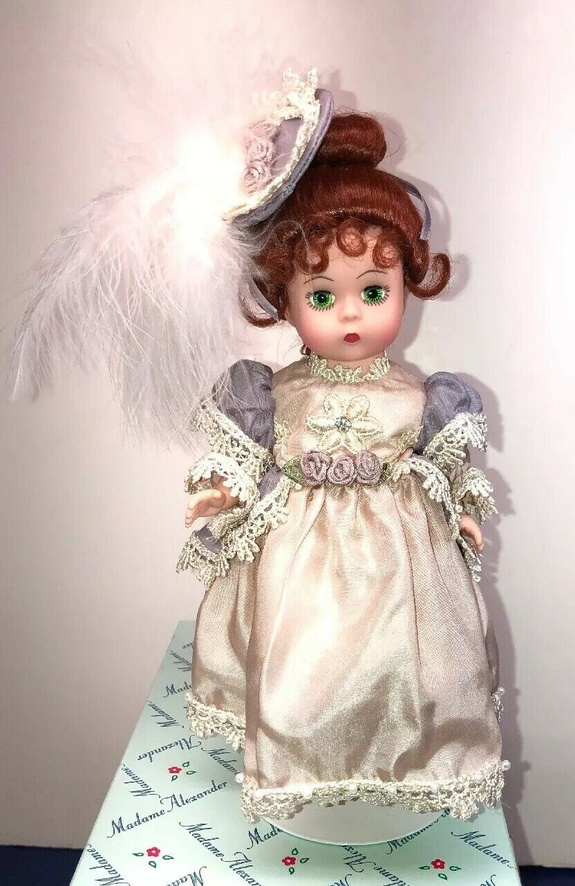 "8  Madame Alexander Doll ""Sophisticated Silk Victorian"" Beautiful rothead W Box"