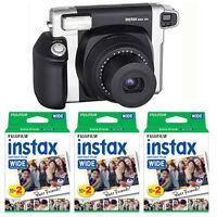 Fujifilm Fuji Instax 300 Wide Format Instant Film Camera + 60 Prints Wide Film