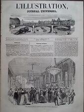 L' ILLUSTRATION 1843 N 9 VENTE PUBLIQUE AU PROFIT DE LA GUADELOUPE, A PARIS