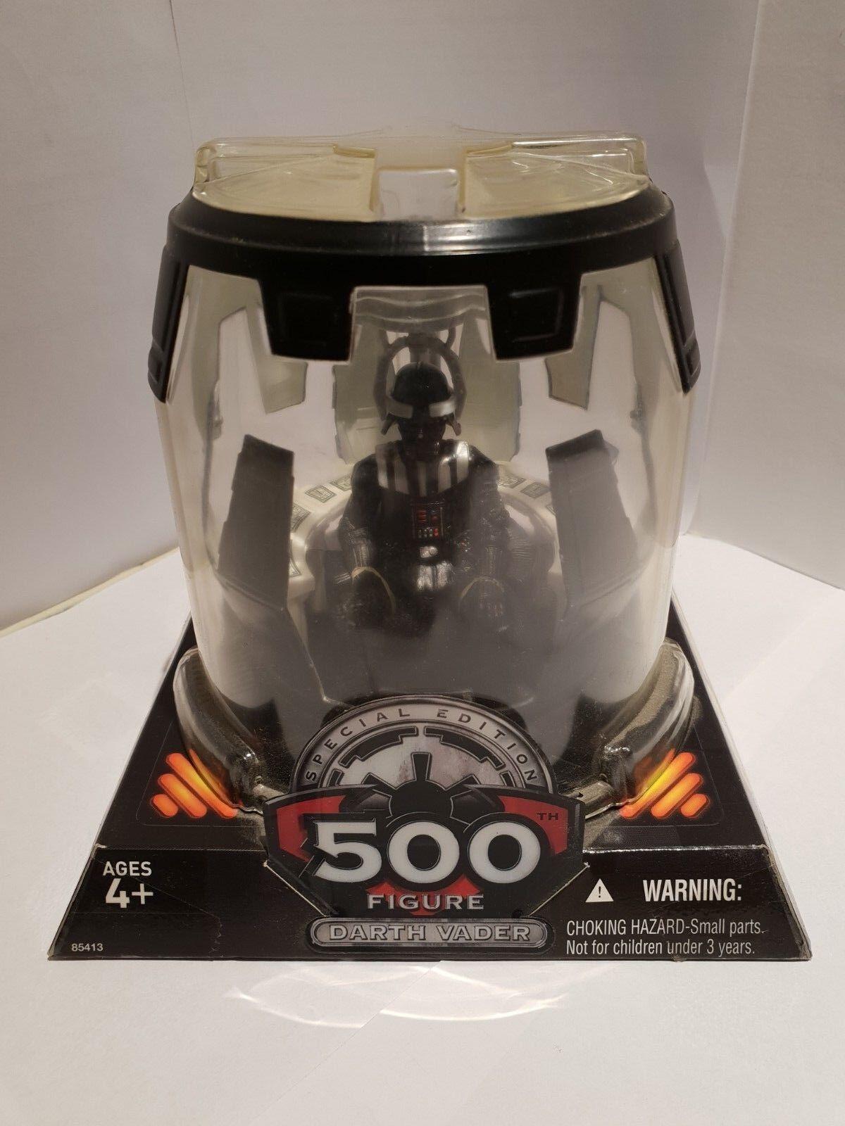 Hasbro Star Wars Darth 500 Figure Special Edition Removable Helmet