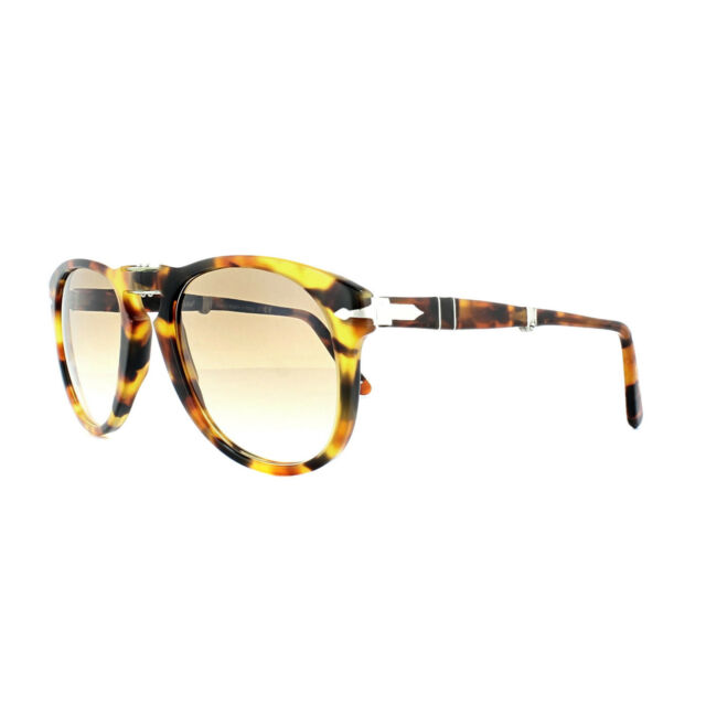 bb17b7fda9 Buy Authentic Persol 0714 - 1052 Sunglasses Madreterra Brown 54mm ...