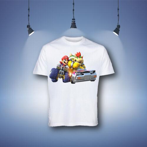 Mario Kart Cartoon Boys Kids T-shirt,Tops /& Shirts