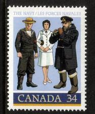 Canada MNH 1985 il 75 ° anniversario della Royal Navy canadese