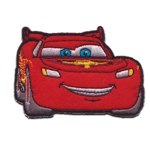 Iron On Patches Cars 2 Lightning Mc Queen 2 Disney Red 7 5 X