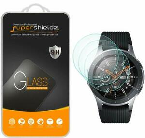 [3-Pack] Supershieldz For Samsung Galaxy Watch (46Mm) Tempered Glass Screen Prot