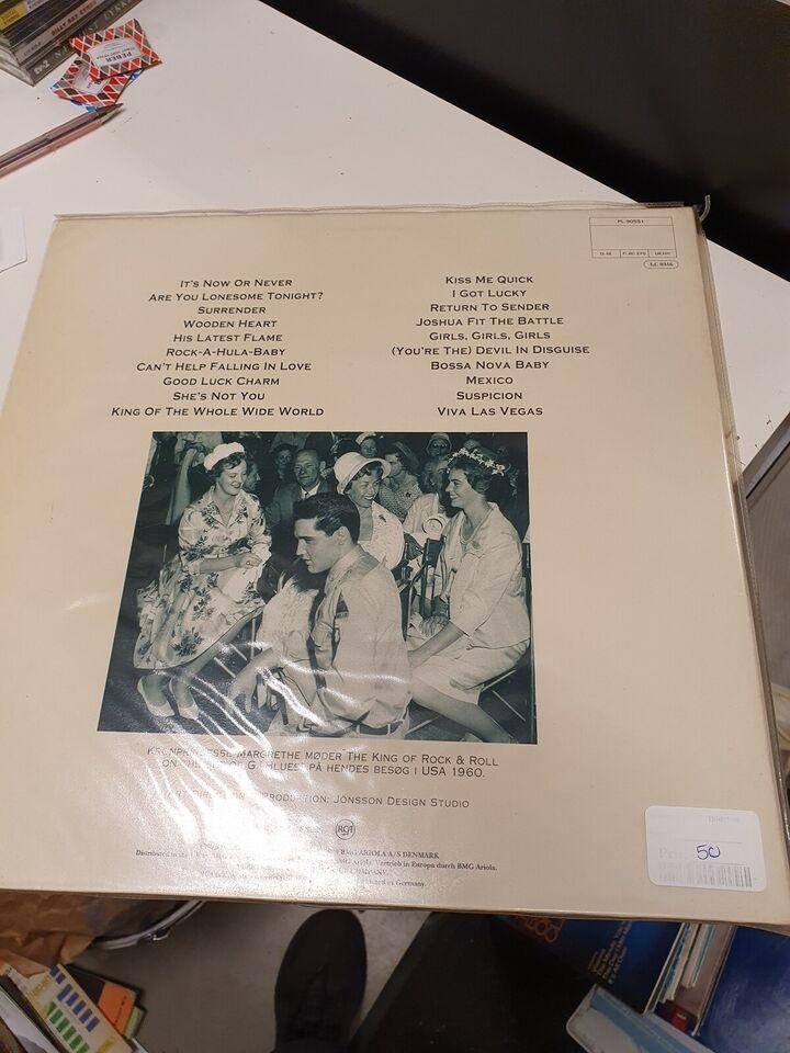 LP, Elvis Presley, Danske single hits