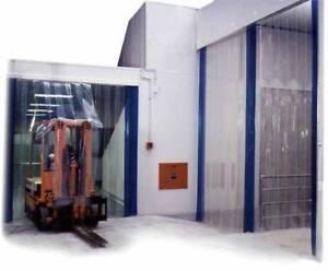 PVC door Strip Curtain Door Strips Only 3.5 Meter Drop 3mmX 300mm Wide Each