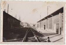 PADOVA - LA STAZIONE DI S.SOFIA VISTA DA LATO EST 1955 - FOTO 9,2 X 6,1 CM