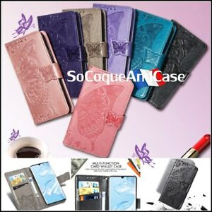 Etui-Coque-Housse-PAPILLONS-BUTTERFLY-Case-Cover-Huawei-Honor-Collection-Films