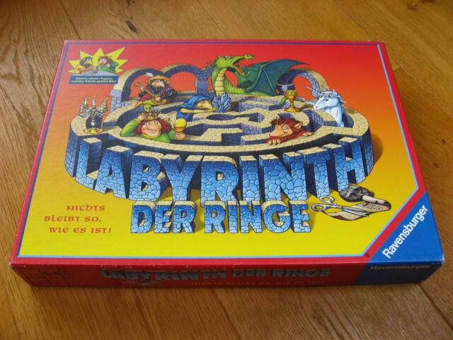TOP ++ Labyrinth der Ringe - Nichts bleibt so wie es ist zum Drehen Ravensburger