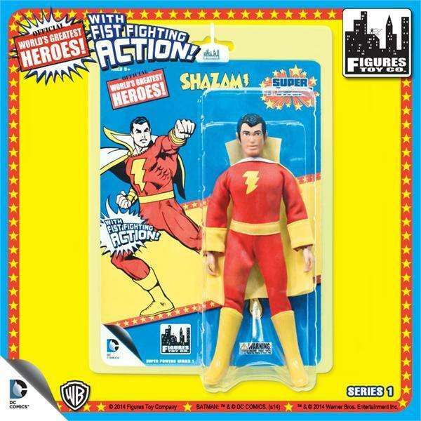 DC Retro Mego Kresge Style Super Powers Shazam Action Figure