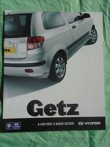 Hyundai Getz brochure Aug 2005