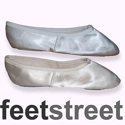 Satén Dama / Boda / Ballet / Zapatos De Baile En Rosa, Blanco O Marfil.