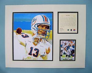 Miami-Dolphins-DAN-MARINO-1996-NFL-Football-11x14-Matted-Lithograph-Print