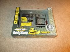 American Muscle Body Shop Construction Bulldozer Diecast Model Kit 1/64 MIB 2001