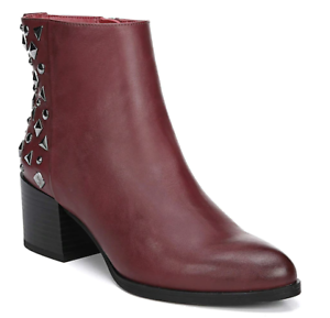 Dark Cherry color, Circus by Sam Edelman Ankle Boots studded, 2.25-in. heel, NIB