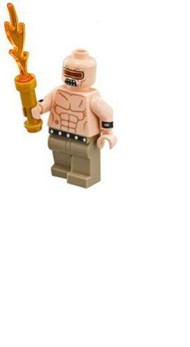 LEGO The Batman Movie Mutant Leader MINIFIG from Lego set #70914 Brand New