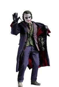 Hot Toys The Dark Knight Movie Masterpiece Joker Action Figure