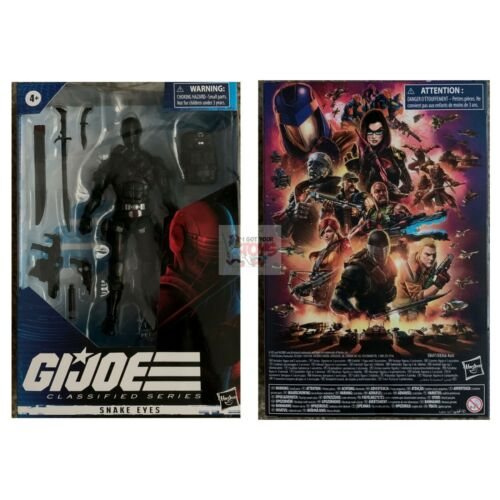 "SNAKE EYES Hasbro GI JOE CLASSIFIED Wave 1 2020 6/"" inch ACTION FIGURE in stock"