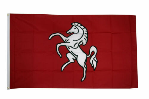 100/% Polyester With Eyelets English County Kent Large Flag 5 x 3 FT