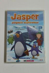 JASPER Pinguino Explorador - DVD Animacion -  Audio Francia - NUEVO EN BLISTER