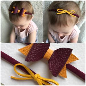 Set of 2 Harry Potter Gryffindor Inspired baby girl toddler headband ... 4666c0691e0