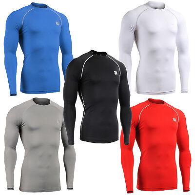 FIXGEAR CPD/_B33 Compression shirt base layer skin tight under training Gym wear