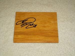 james nunnally hand signed floorboard nba floor board basketball ebay