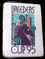OFFICIAL 1995 BREEDERS CUP HORSE RACING LAPEL PIN FROM BELMONT PARK!
