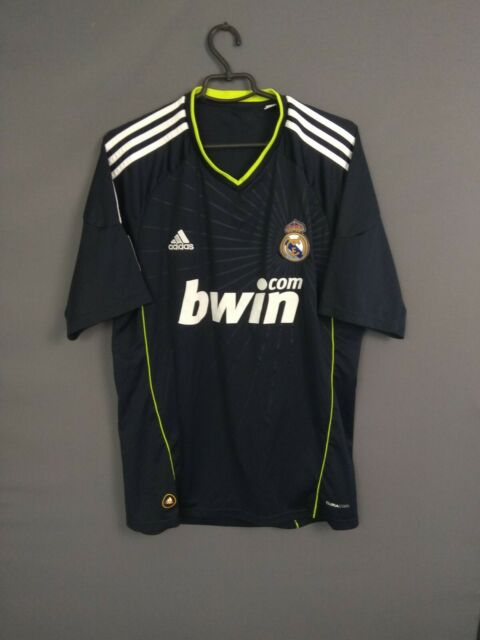 Real Madrid Jersey 2010 2011 Away L Shirt adidas Soccer Football ...