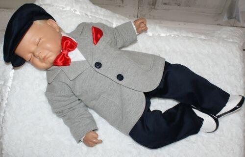 Nr.0hb90 Kinderanzug Taufanzug Festanzug Babyanzug Anzug Taufgewand Neu