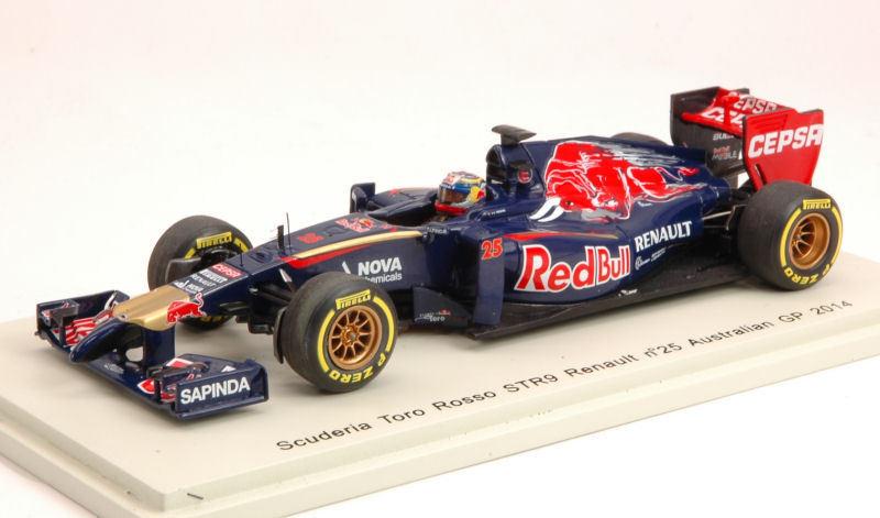 Toro Rosso Rosso Rosso J.Vergne 2014 #25 8th Australian Gp 1:43 Model S3083 SPARK MODEL | Outlet Shop En Ligne  d9394a