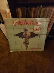 Motley Crue - Dr. Feelgood, original 1989 LP in shrink Hype Sticker VG +