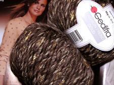 700g Fashion Trend Gold GEDIFRA Schachenmayr WOLLE Merino Braun Natur degrade