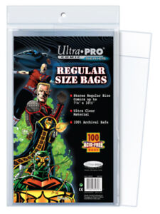 ULTRA-PRO-Comic-Book-Accessories-Regular-Size-Bags