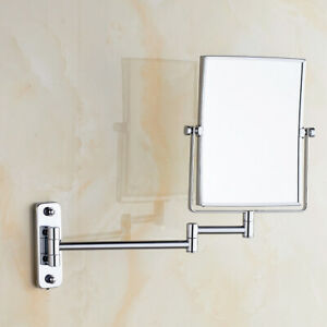 GURUN-Bath-Wall-Mount-Hotel-Chrome-Brass-Makeup-Mirror-with-3X-Magnification-1X