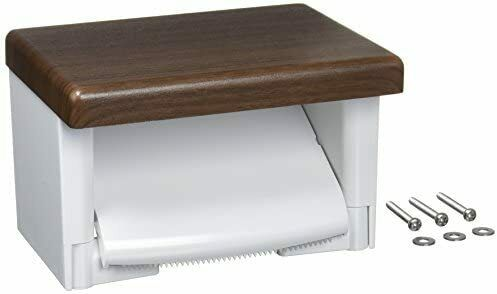 TOTO Paper Roller With Shelf (Wood) Resin Dull Brown YH501FM # MW