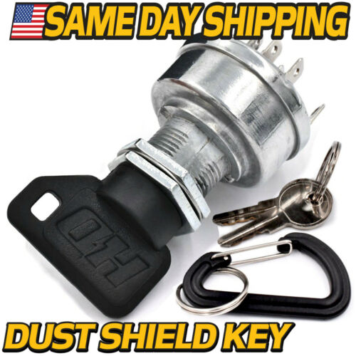 Details about  /Starter Ignition Switch replaces John Deere Gator AUC14659 AUC12681 w// 3 Keys