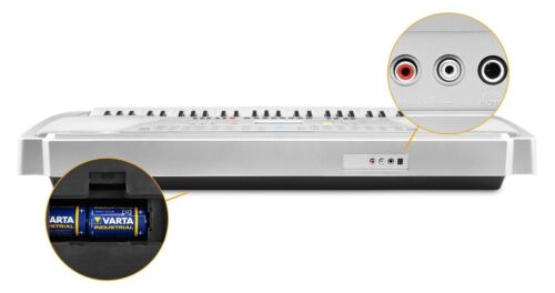 FunKey 61 Tasten Keyboard Ständer Stativ Piano Pank E-Piano Klavier Synthesizer
