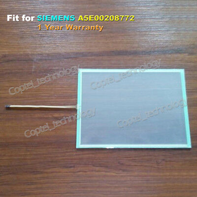 New Touch Screen Glass For Siemens A5E00208772 Free Shipping