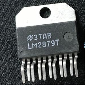 1pcs NS LM2879T ZIP-11 LM2879 Dual 8W Audio