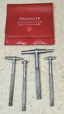 Starrett No 579 Telescoping Gages Set Of 4 516 To 2 18