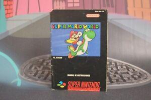 Super-Mario-World-Super-Nintendo-SNES-1992-No-Game