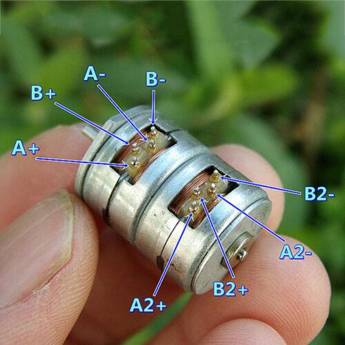 15BY25 Mini 15 mm 2-Phase 4-wire photorépéteur Motor Micro allongée moteur pas à pas