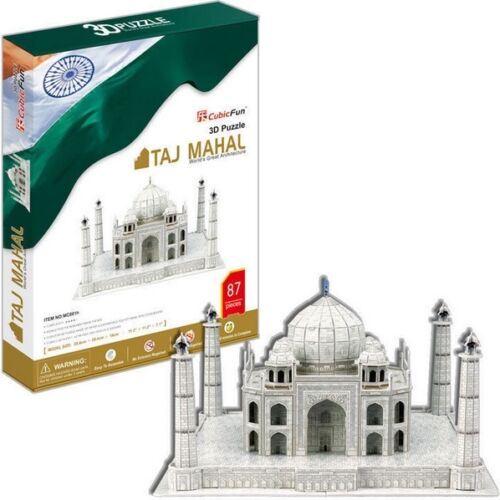 Puzzle Cubic Fun 87 Teile - Puzzle 3D - Taj Mahal (41316)