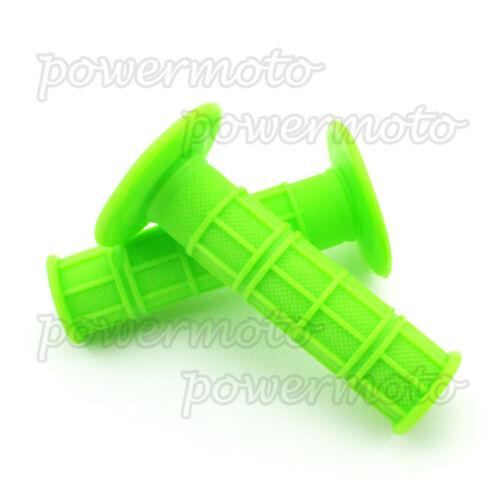7//8/'/' Soft Rubber Handle Grips For Pit Dirt Bike 50 70 90cc 110cc Motocross Grip