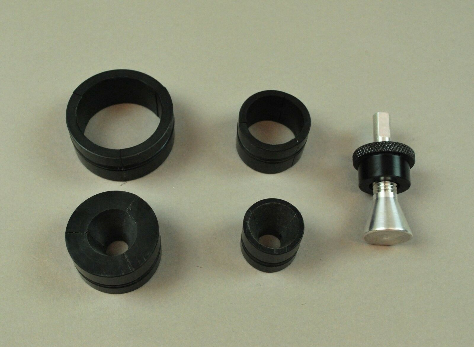 Spinning Reel Adapter SMtuttiMEDIUM Combo for use with Super Spooler Line Winder.