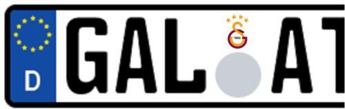 AUTOAUFKLEBER STICKER GALATASARAY ISTANBUL AUTO AUFKLEBER RUND 3,5 CM BUTTON PIN