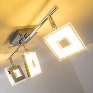 Deckenstrahler Design LED Deckenspot Deckenlampe Lampe Flur Spots Kopf beweglich